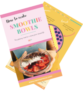 how to make smoothie bowls